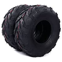 Million Parts Pair ATV Directional Tires 145/70-6 4Ply B