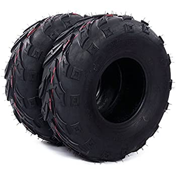 Million Parts Pair ATV Directional Tires 145/70-6 4Ply B