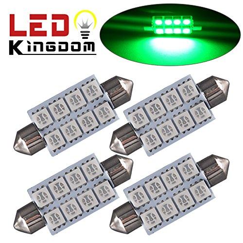 100 Light Led Green Dome Lights - 1