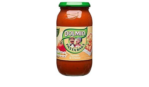 Dolmio Salsa para Pasta Bake Tomate y 500 g de queso (Pack de 6 x 500 g): Amazon.es: Alimentación y bebidas
