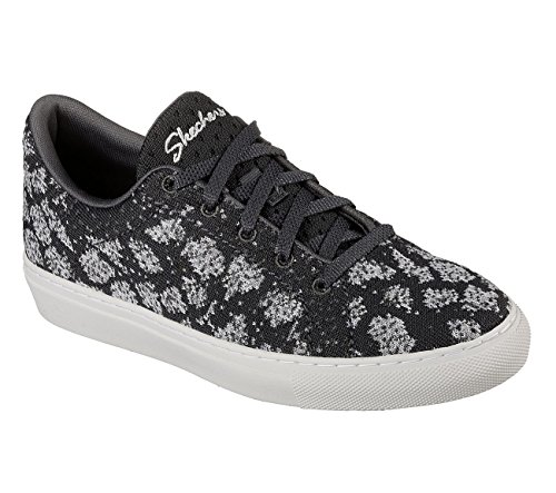 Skechers Kvinners Vaso - Strikke Blonder-up Sneaker Kull