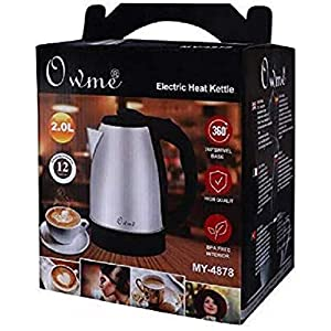 Owme Electric Kettle Tea Coffee Maker Milk Boiler Water Boiler Tea Boiler Coffee Boiler Water Heater Stainless Steel Kettle