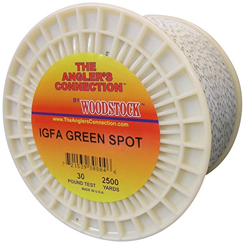Cheap Woodstock IGFA Dacron Fishing Line, 2000 Yards/130# Test, GreenSpot …