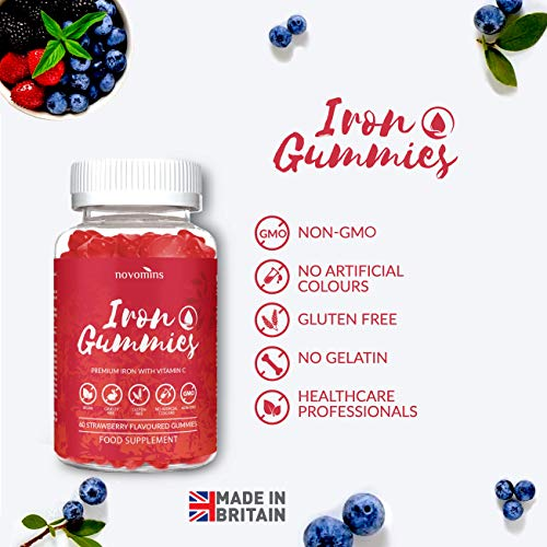 Vitamin-C-Iron-Gummies-Vitamin-C-Gummies-Chewable-Vitamin-C-High-Strength-Strawberry-Flavoured-Supplement-Vitamin-C-Nutrition-Made-in-UK-by-Novomins