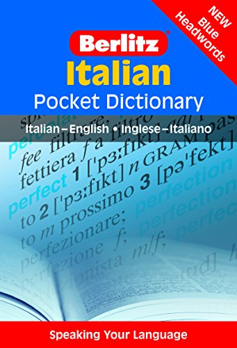 Berlitz Italian Pocket Dictionary: Italian-English/English-Italian (Berlitz Pocket Dictionaries)