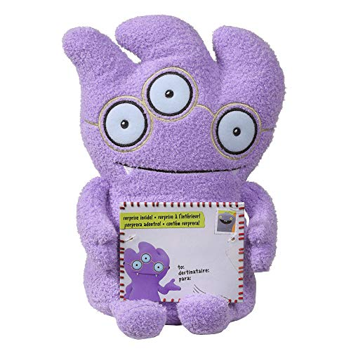 """Hasbro Sincerely Uglydolls Hugs & Headstands Wedgehead Stuffed Plush Toy, Inspired by The Uglydolls Movie, 7.5"""" Tall"""