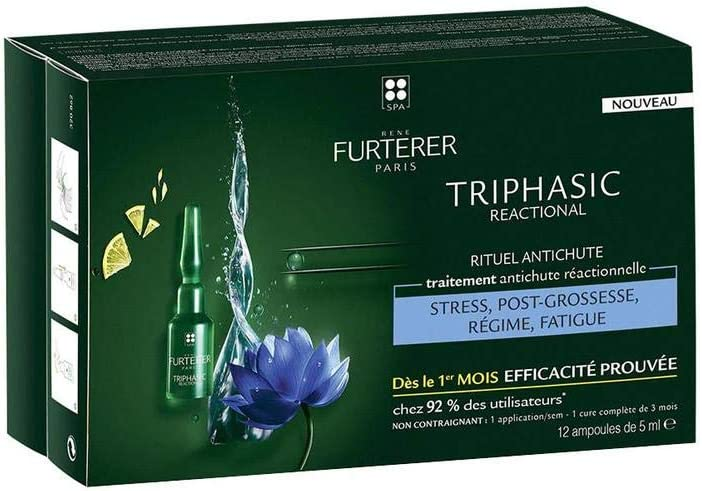 Rene Furterer Rene Triphasic Reaccional 12Ampollas 40 g