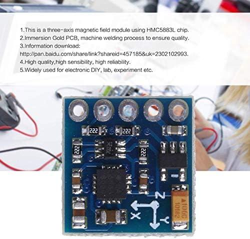 BianchiPamela GY-271 HMC5883L Three-axis Digital Compass Magnetic Field Module Magnetometer