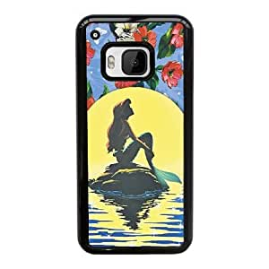 HTC One M9 Cell Phone Case Black Disney the little mermaid Ariel AS7YD3553562