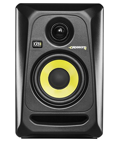 "KRK RP4G3 ROKIT 4 G3 4"" 2-Way Powered Studio Monitor, Black"