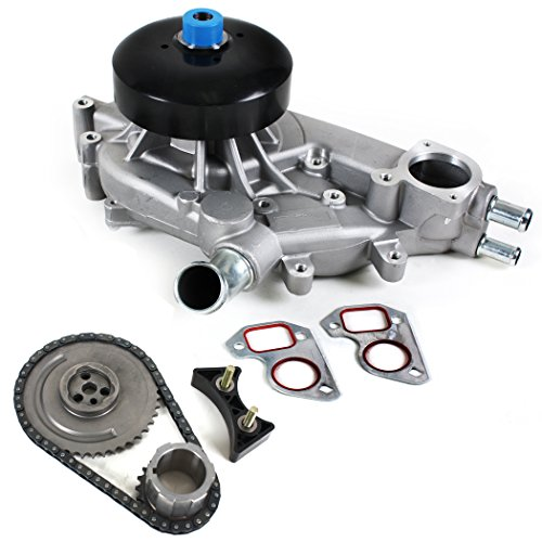 Ls2 Timing Chain - CNS TK6080WP Brand New Timing (60 LINK H.D. ROLLER CHAIN) Chain Kit + Water Pump Set L33, 7, L59, LQ4, 9, LS2