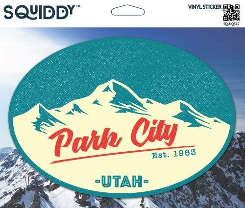 Squiddy Park City Utah - Vinyl Sticker Decal for Phone, Laptop, Water Bottle (3