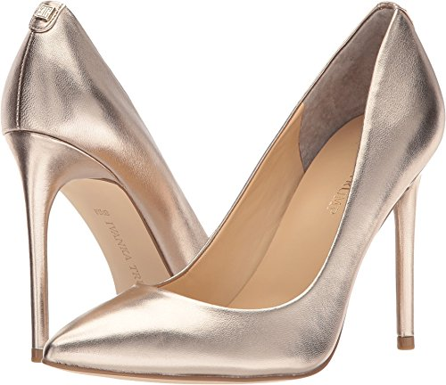 Ivanka Trump Womens Kayden 4 Matte Peach Metallic 7 M