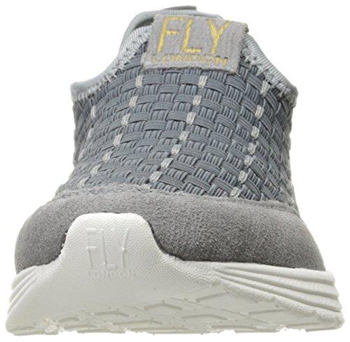Zapatillas De Deporte Fly London Sati949fly Fashion Grey Suede / Lycra