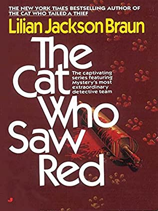 book cover of The Cat Who Saw Red