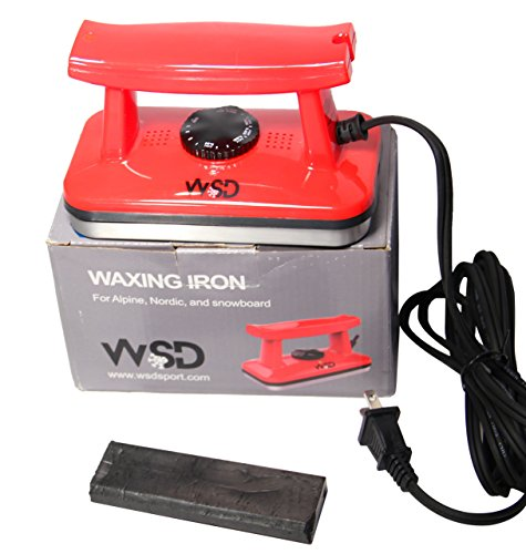 Ski and Snowboard Wax Iron ski Tune Up Waxing Iron WSD with Bonus 50 gram wax New
