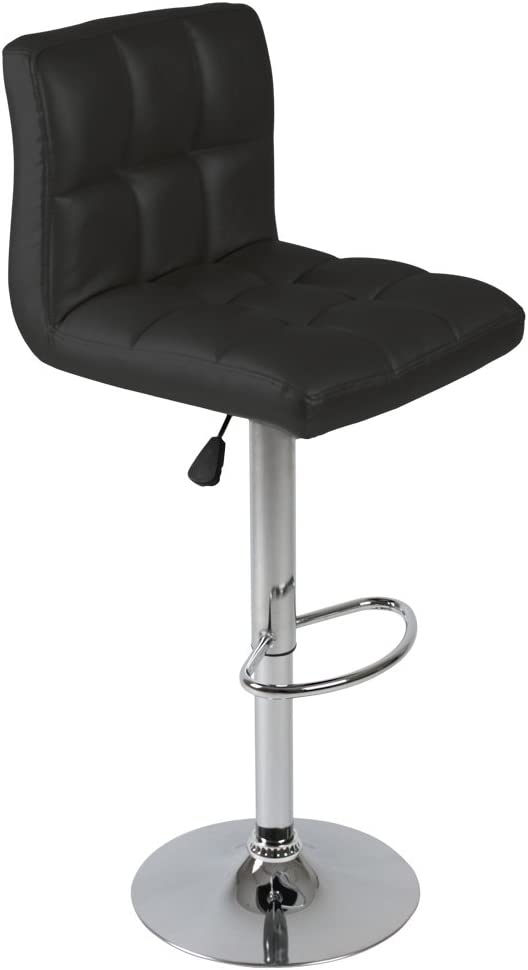 Miadomodo LBHK01- Black Bar Stool