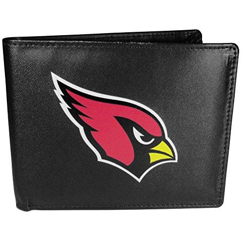Siskiyou NFL Arizona Cardinals Bi-Fold Wallet Logo, Large, Black