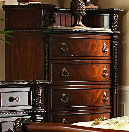 Homelegance Palace Chest with Marble Insert