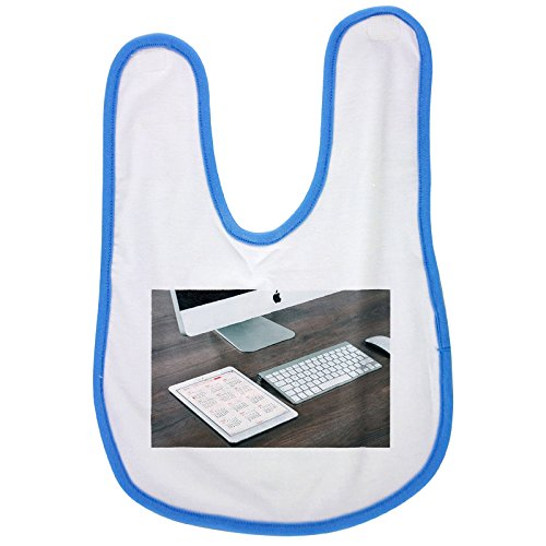 Price comparison product image Imac, Ipad, Computer, Tablet, Mobile baby bib in blue, Baby boy bibs, dribble bibs, cool baby boy bibs, best baby bibs, best bibs, best dribble bibs, best baby bibs for drooling, cute baby bibs, cut