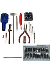 New 16pcs Watch Repair Tools Kit + 360pcs Watch Spring Bar Kit
