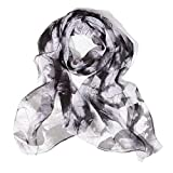 ChikaMika Lightweight Scarves for Women Top Quality Floral Scarves for Women