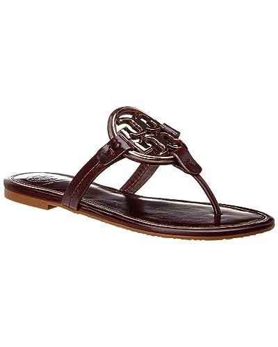 3e0ba0483 Tory Burch Miller Metal Logo Thong Sandal