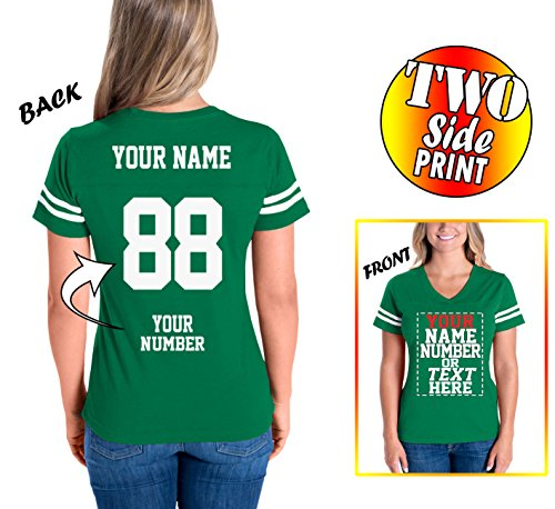 (Custom Cotton Jerseys for Women - Personalized Team Uniforms for Casual Outfit )