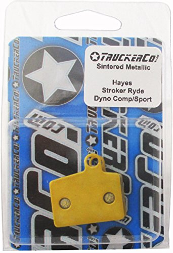 Sintered Metallic Disc Brake Pads Fits Hayes Models: Hayes Stroker Ryde, Ride Comp Hayes Dyno Comp, Dyno (Hayes Stroker)