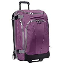 "eBags TLS Mother Lode Junior 25"" Wheeled Duffel (Eggplant)"