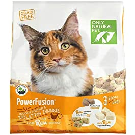 Only Natural Pet PowerFusion Poultry Dinner 2.5 lb Cat Food