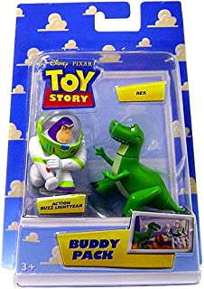 Toy Story Disney   Pixar Mini Figure Buddy Pack Action Buzz Lightyear and  Rex e450d44dcee