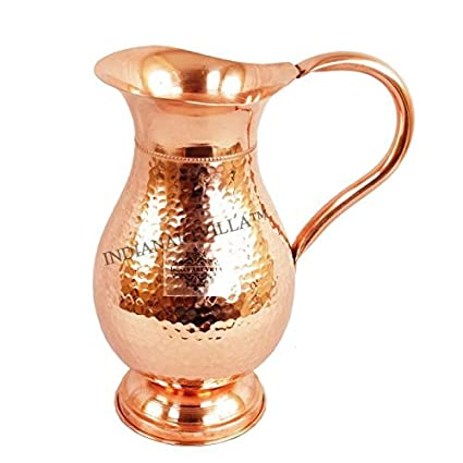 Buy Yadav Handicrafts Handmade Pure Copper Jug Pitcher For Storage
