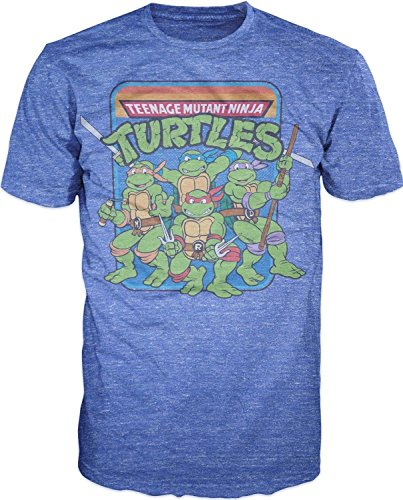 Official Men's Teenage Mutant Ninja Turtles Group Image T-Shirt