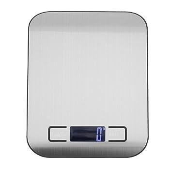 Prosperveil 5 kg/1 g electrónico LCD Digital báscula de alimentos cocina té herramienta de pesas para hornear: Amazon.es: Hogar