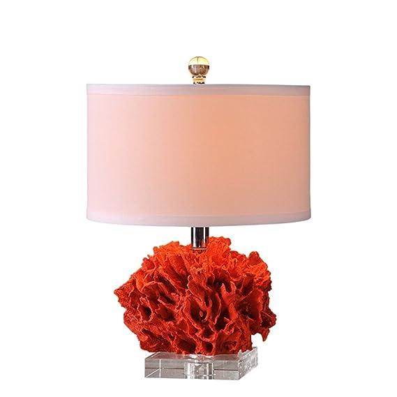 Hochzeitsgeschenk Schlafzimmer Korallen Lampe Rot Amazon De