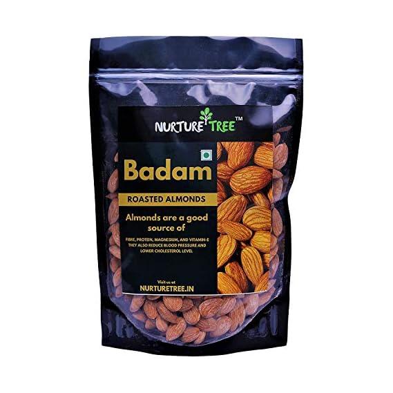 NURTURE TREE Premium Roasted & Salted Almonds (Badam) 400 g