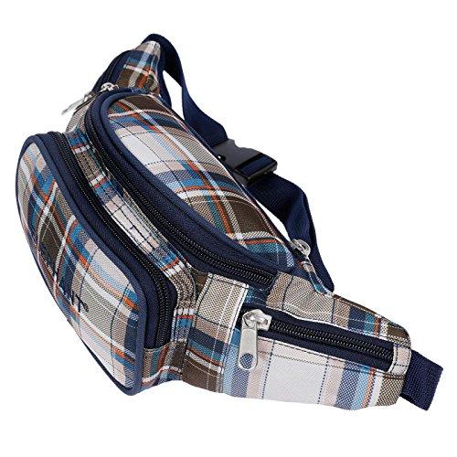 LLUPP hochwertige Trecking Nylon Bauchtasche Hüfttasche Gürteltasche