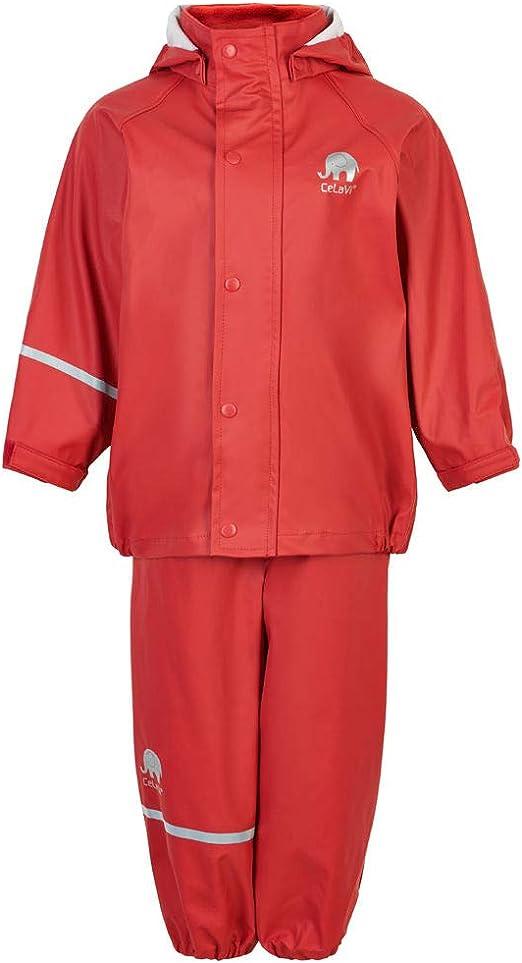Celavi Boys Basic Rainwear Set Rain Jacket