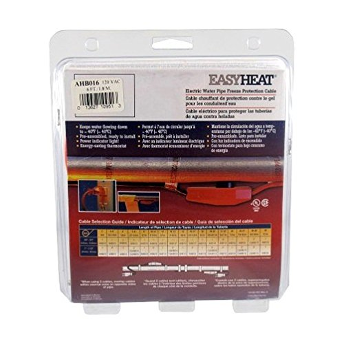Ahb-016 Heat Cable 6' by Easy Heat