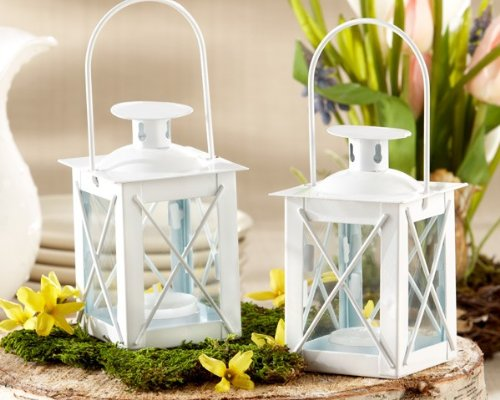 Luminous Mini-Lanterns with soy tealight -24 count -