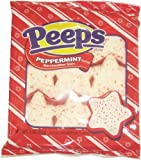 Peppermint Marshmallow Star Peeps 3oz.