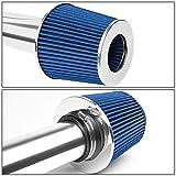 DNA Motoring ITK-0069-BL Blue Air Intake+Filter