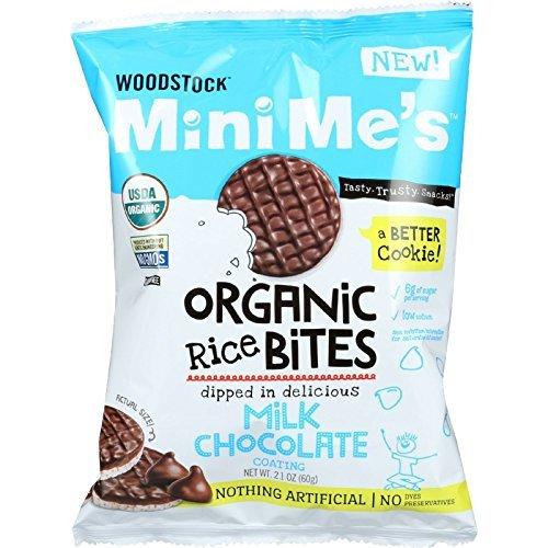 Dipped Chocolate Crackers (Natural SeaOrganic Wood Milk Chocolate Rice 2.1 Oz (Pack Of 8))