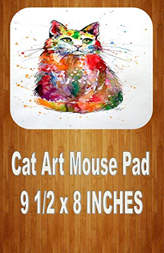 Cute Cat 2 Art Mouse Pad Home Or Office ()