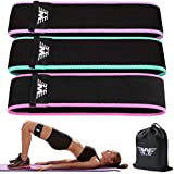 WOOSL Resistance Bands for Legs and Butt,Exercise Bands Set Booty Bands Workout Bands Hip Bands Wide Sports Fitness Bands Stretch Resistance Loops Band Anti Slip Elastic(Set 2)