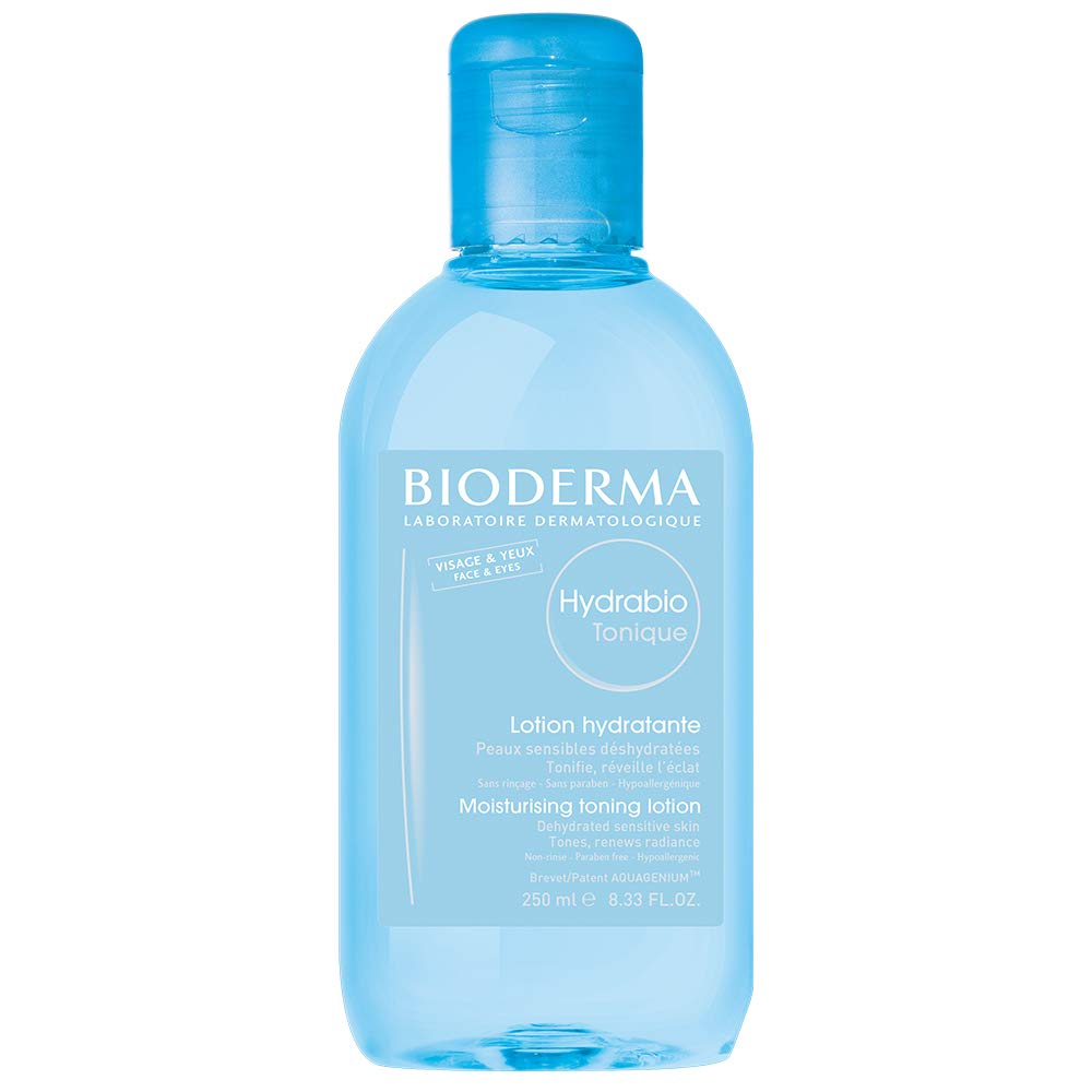 Bioderma Hydrabio Hydrating Tonic Lotion for Dehydrated Sensitive Skin - Face and Eyes - 8.3 FL.OZ. by Bioderma
