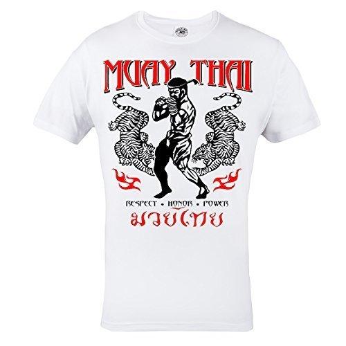 Rule Out Camiseta Prenda De Lucha Muay Thai Respect. Honor. Energía. Entrenamiento.