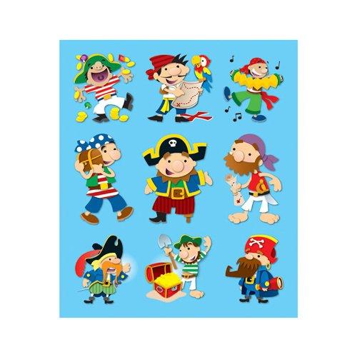 Carson Dellosa Pirates Prize Pack Stickers (168042) ()
