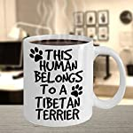 Tibetan Terrier Mug - White 11oz Ceramic Tea Coffee Cup - Perfect For Travel And Gifts 10